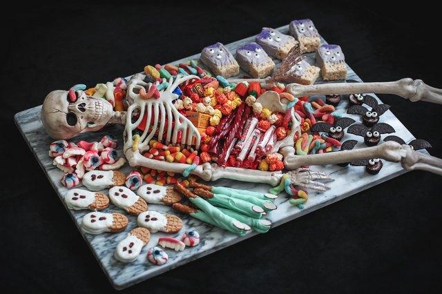 Skeleton party platter