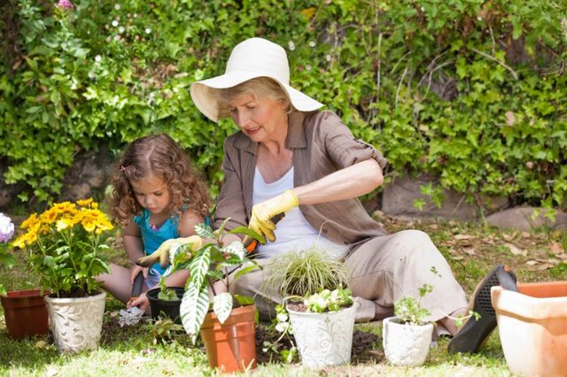 Many parents of older moms are retired and ready to help.