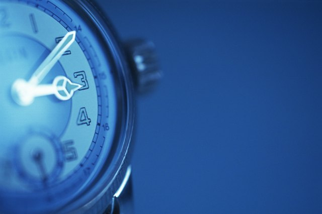 Wristwatch, Close Up, Differential Focus, Toned Image