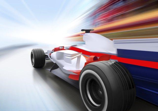race on speed road