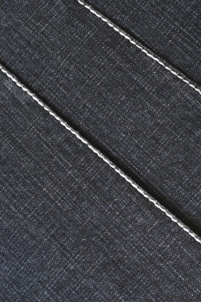Close-up of denim pattern
