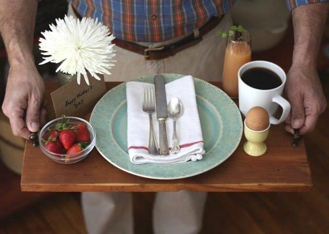 Lap tray.