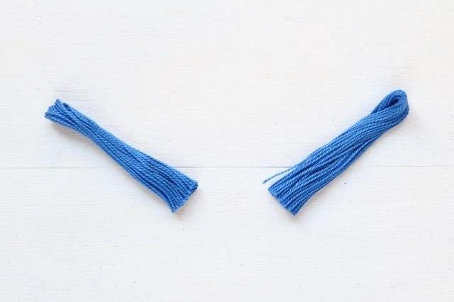 Cut the thread