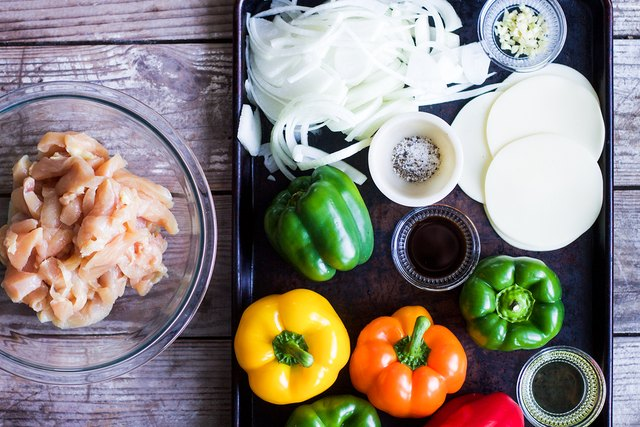Philly Chicken Stuffed Peppers Recipe