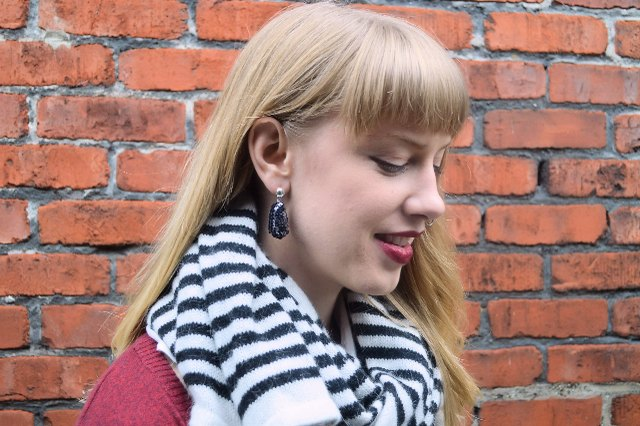 Alternatives for sequin drop earrings