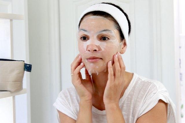Korean face mask.