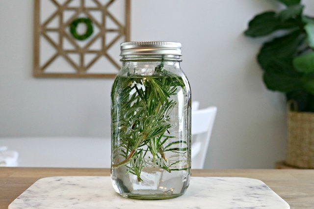 DIY scented vinegars for cleaning