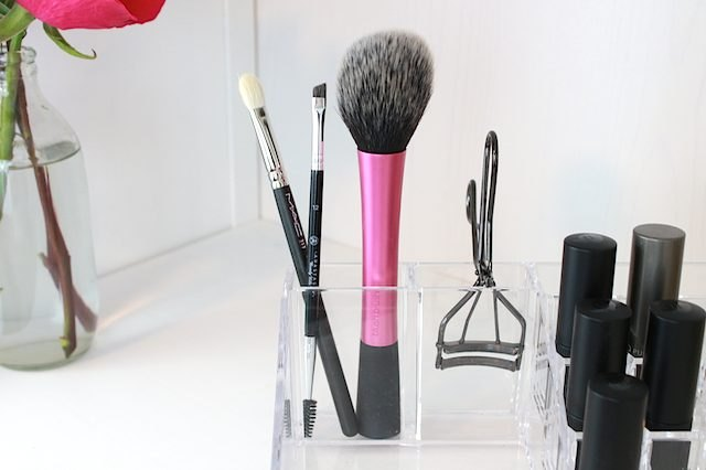 Makeup brushes.