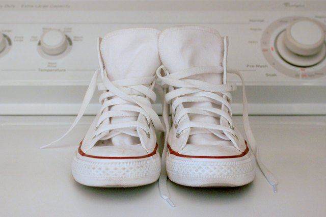 How To Clean White Converse Ehow
