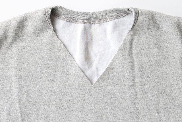 Cut the sweatshirt