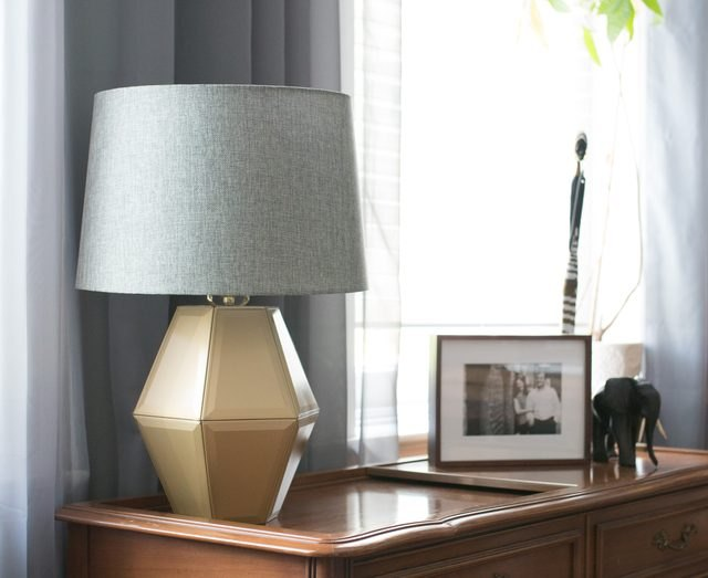 Lantern table lamp.