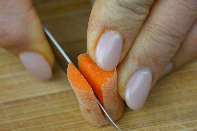 close-up of cutting plug