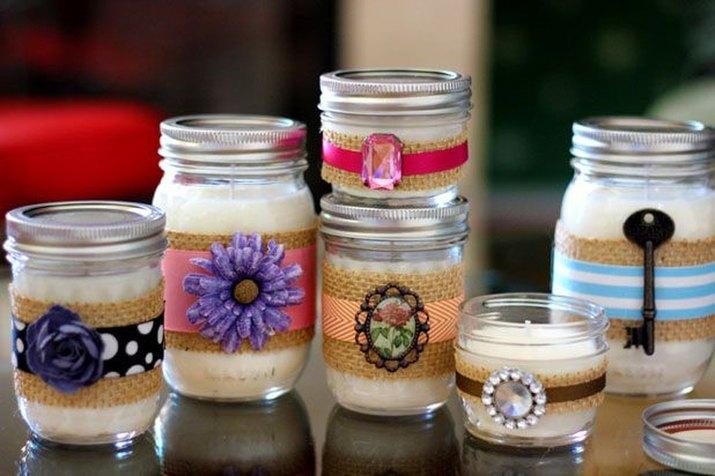 Create decorative candles