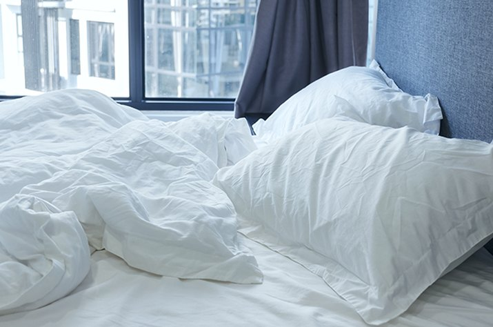 An image of a bed.