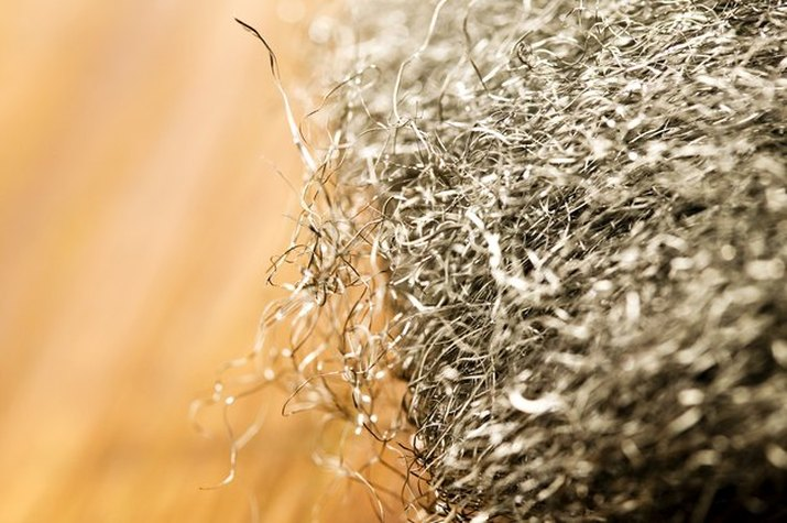 An image of steel wool.