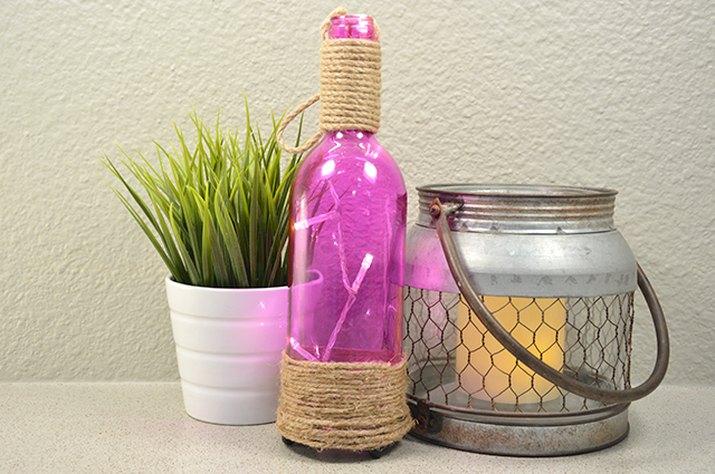 An image of the lantern wine bottle.