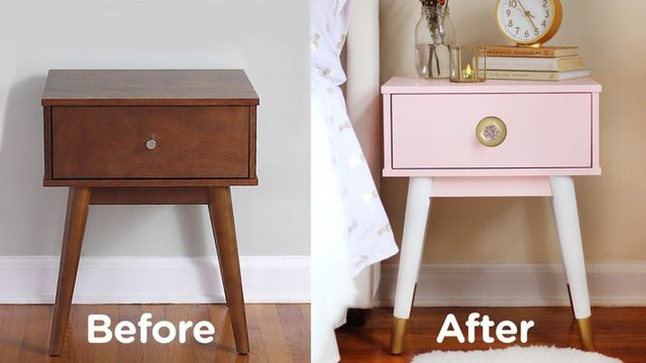 give your nightstand a luxe look