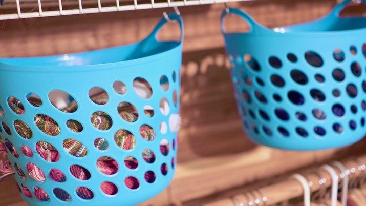 S-Hooks & Baskets for Under Shelf Storage