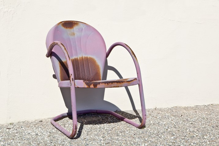 Rusted chair