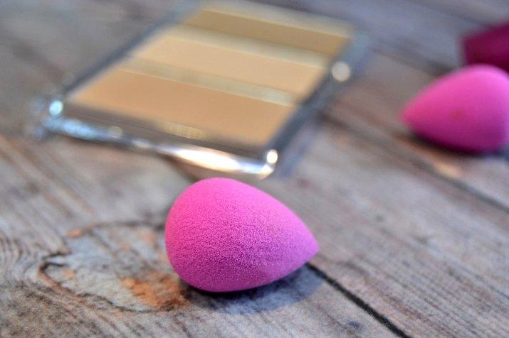 Makeup and makeup sponges