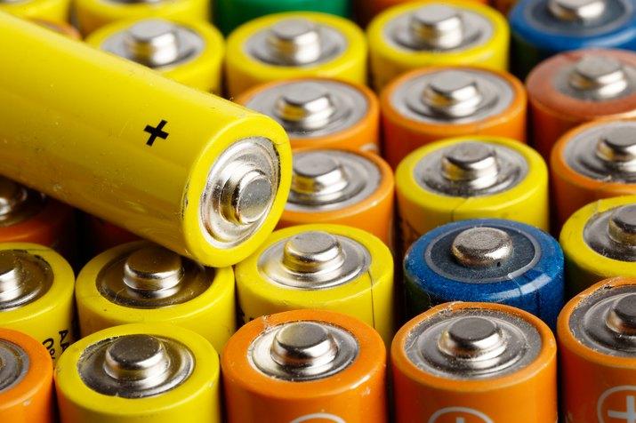 Batteries size AA