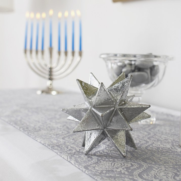 Candles used in Jewish religious celebration