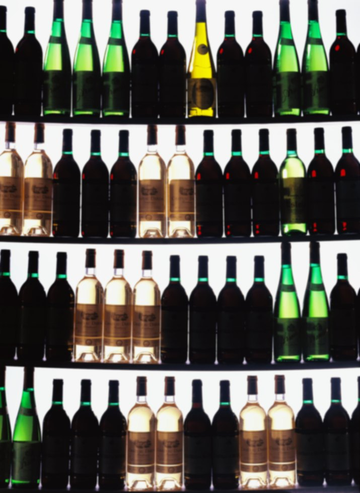 shot of a wine cellar