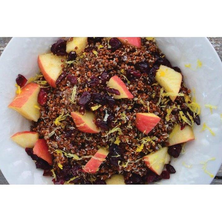 Sweet Red Quinoa Porridge