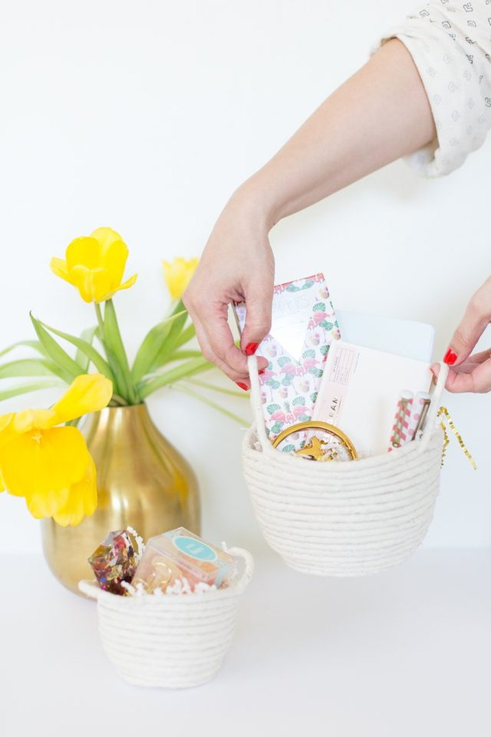 rope easter baskets