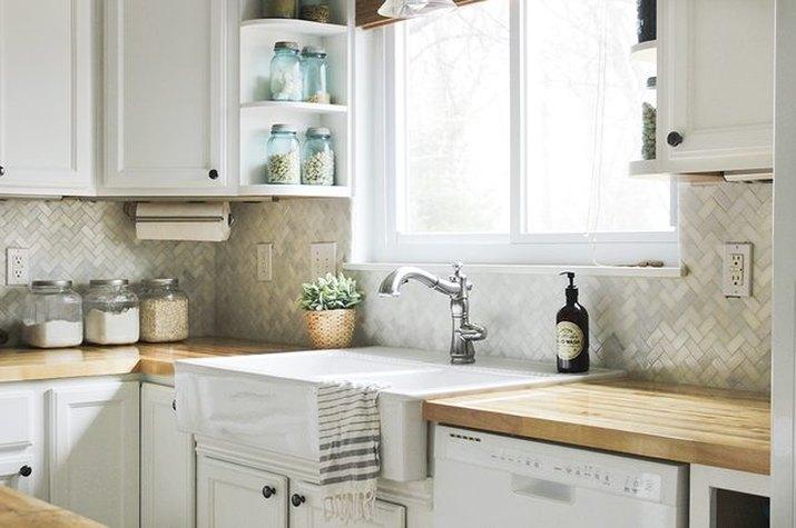How to install a kitchen tile backsplash.