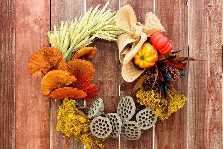 Fall Elements Wreath