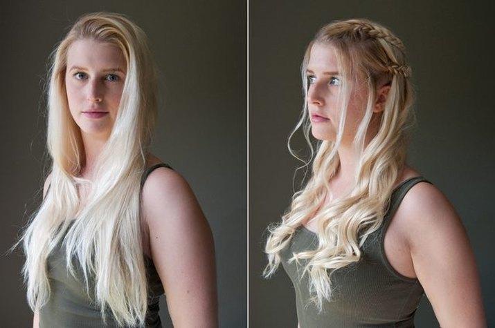 How to make Daenerys Targaryen braids