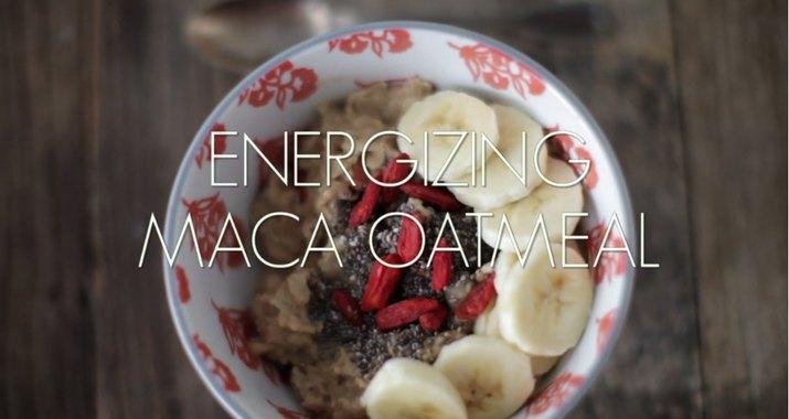 Energizing Maca Oatmeal
