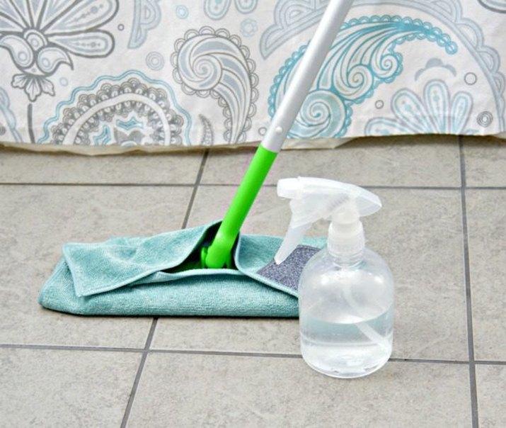 Homemade tile floor cleaner