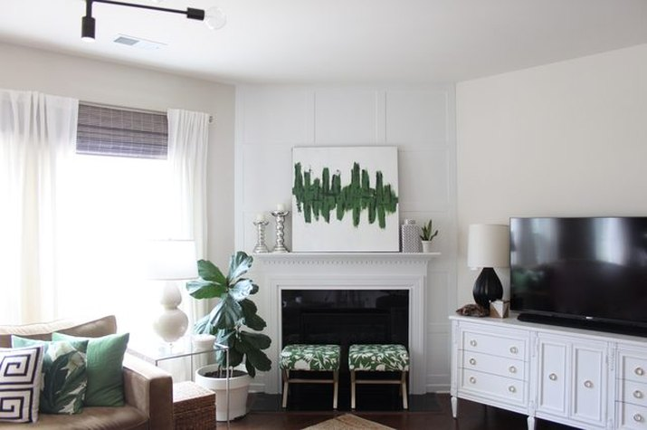 Give Your Fireplace a Fresh Look Using Board and Batten