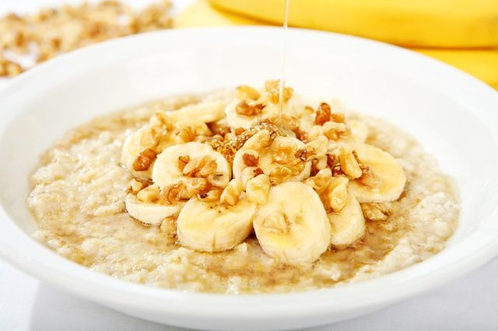 Microwave Old-Fashioned Oats