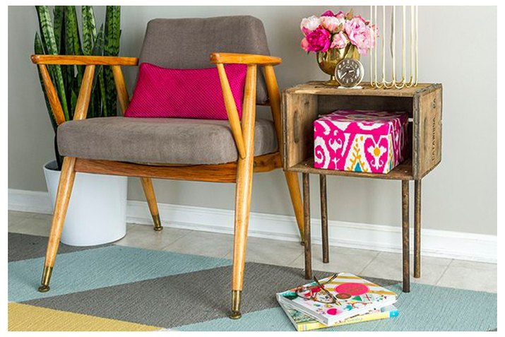 Mid-century inspired side table
