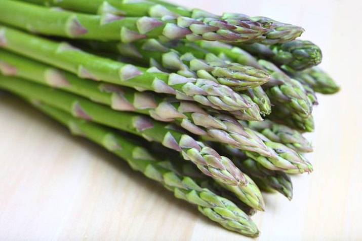 Fresh steamed asparagus is a perfectly simple side dish