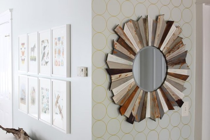 How to Create a Patterned Accent Wall (Without Wallpaper)