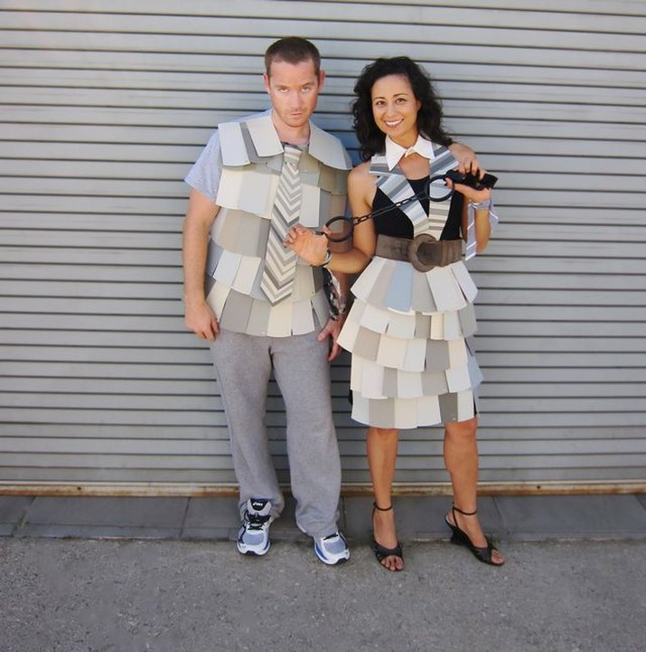 Funny 50 Shades of Grey pun costume
