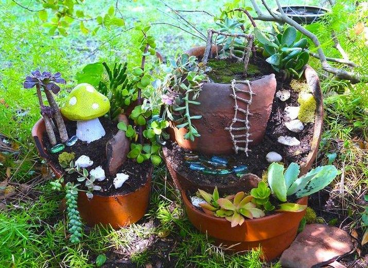 A fairy garden.