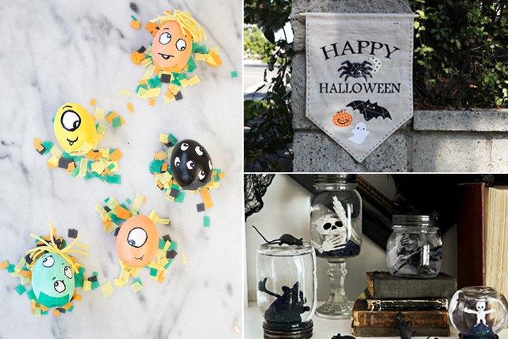 Halloween decor.