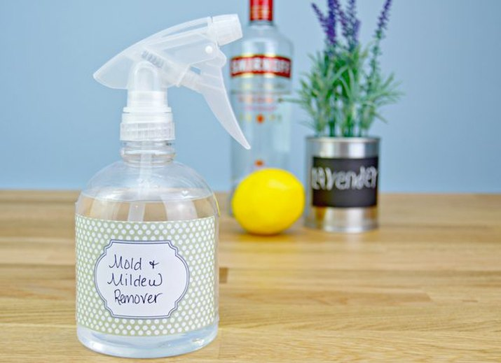 DIY mold and mildew remover