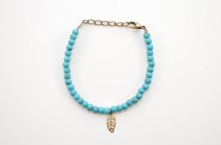 Practice working with jewelry pliers by making a beaded bracelet.
