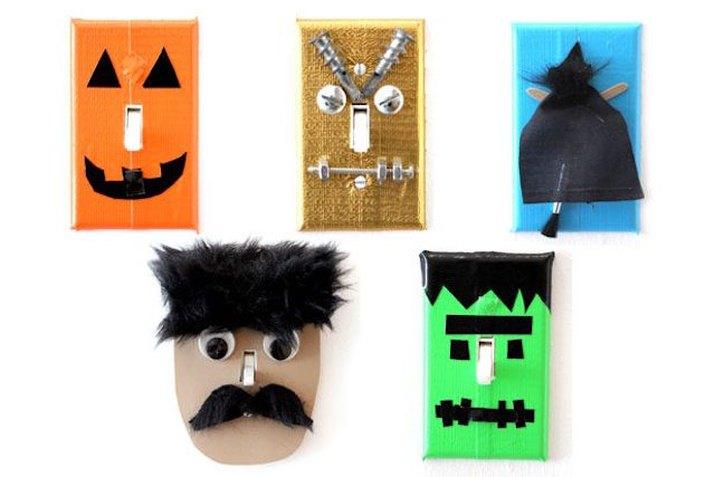 Halloween Light Switch Plates