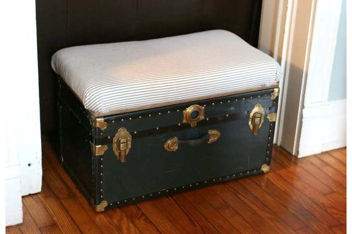 Storage trunk bench and coffee table