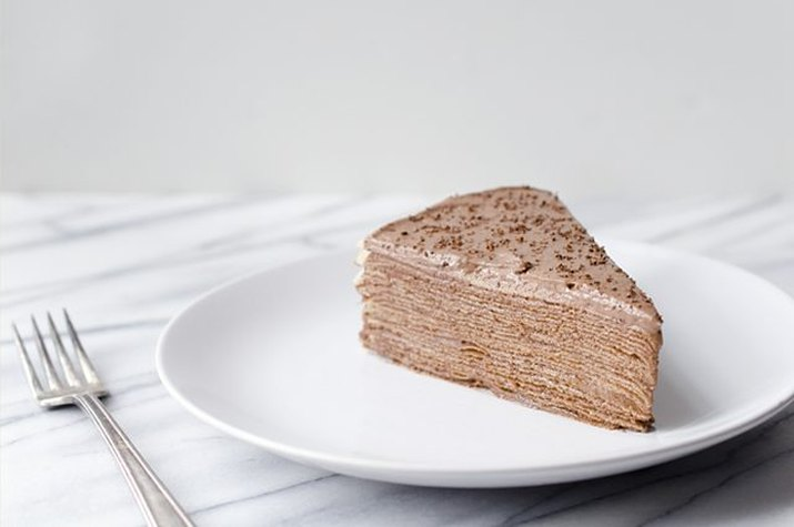 A cake make with Nutella.