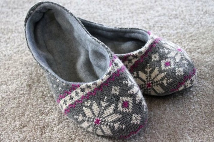 How to make a pair of slippers