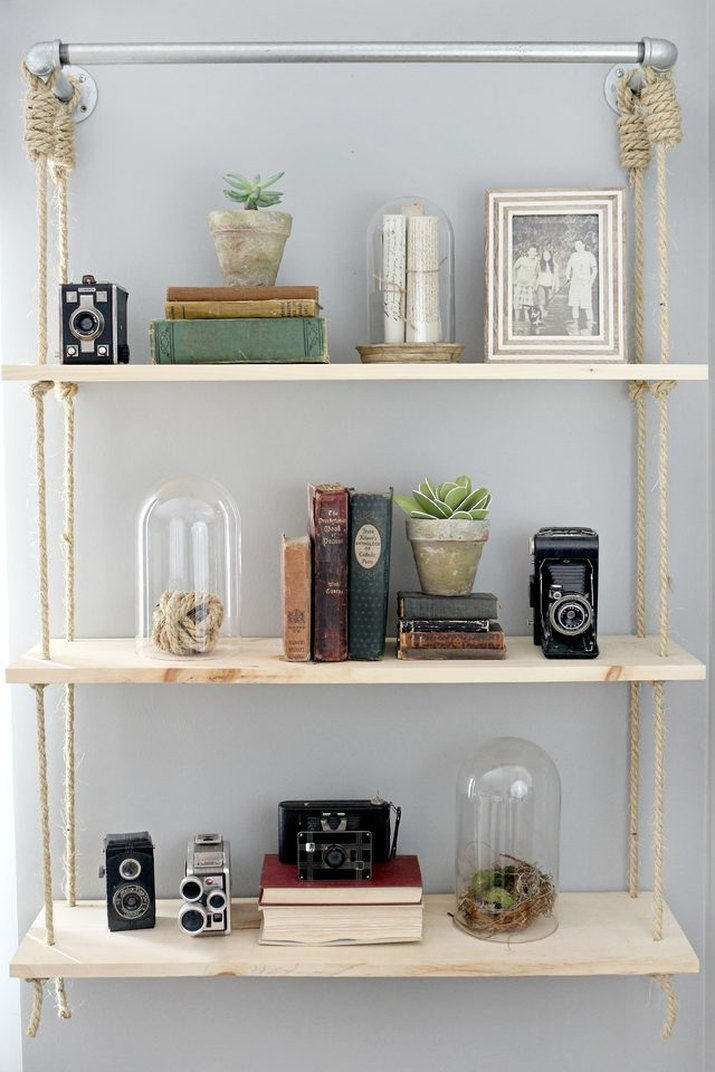 How to Build Your Own Wood Shelves