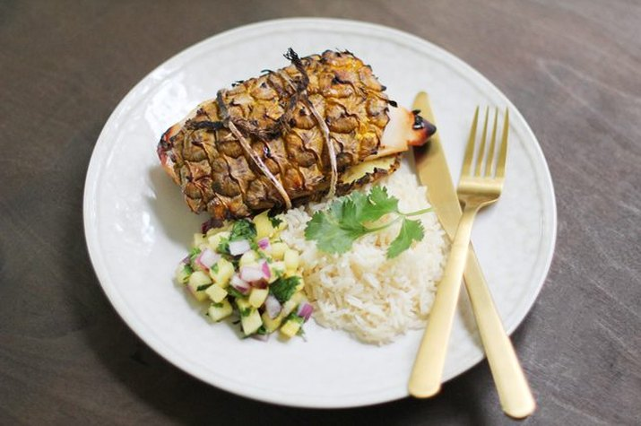 Pineapple Plank Chicken